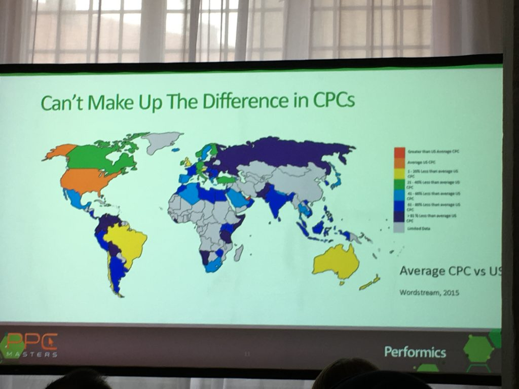 Länderspezifische CPCs
