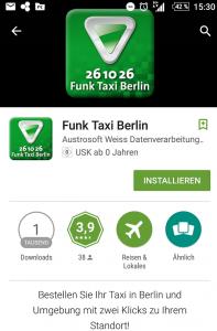 App-Store (nach dem Klick auf die Erweiterung)