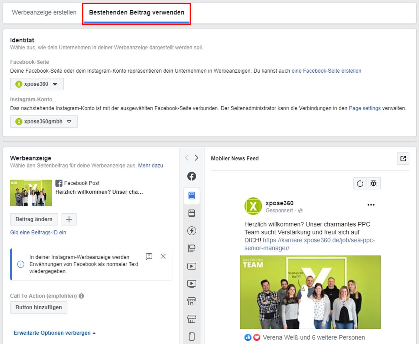 Facebook Beitrage Bewerben So Funktioniert Facebook Boost 12