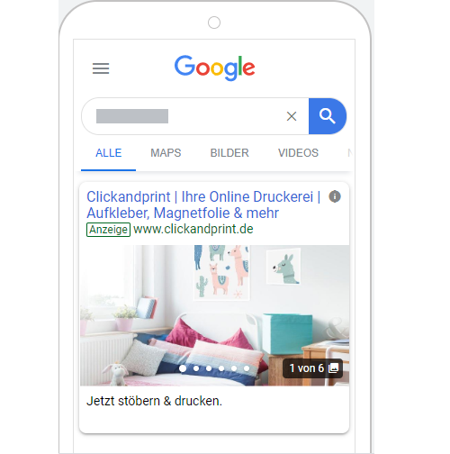 Gallery Ads Neue Bildanzeigen Auf Der Google Suchergebnisseite Xpose360 Gmbh