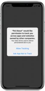 Beispiel Apple iOS 14 OptIn