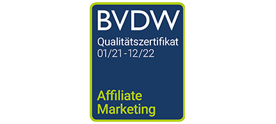 BVDW Zertifikat Affiliate Marketing