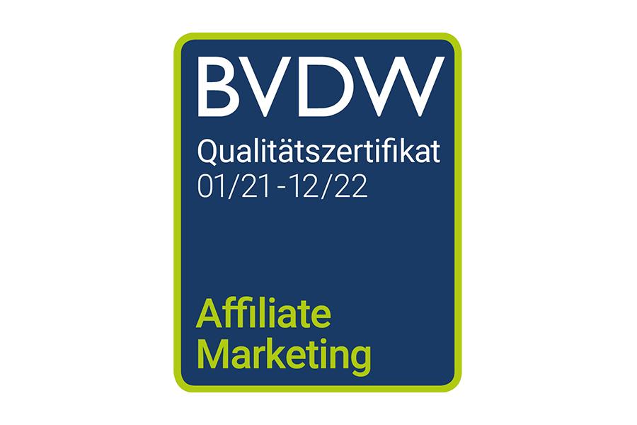 BVDW Zertifikat Affiliate-Marketing