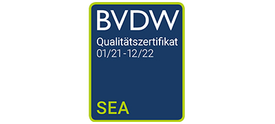 BVDW Zertifikat SEA