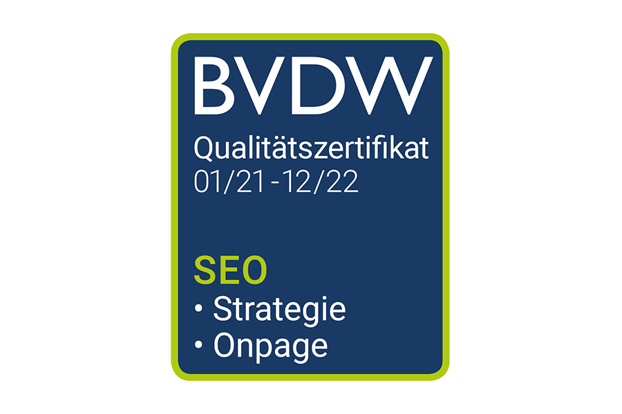 BVDW zertifikat SEO